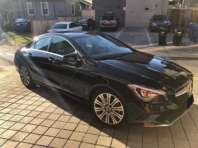 2018 Mercedes-Benz CLA Coupe lease in Seattle,WA - Swapalease.com