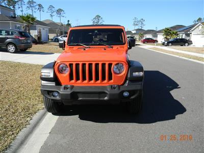 2018 Jeep Wrangler Unlimited lease in JACKSONVILLE,FL - Swapalease.com