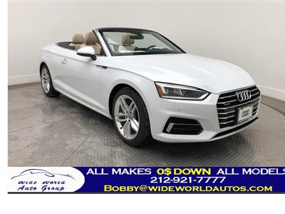 2019 Audi A5 Cabriolet lease in New York,NY - Swapalease.com