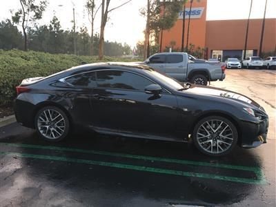 2016 Lexus RC 200t  F Sport lease in Irvine,CA - Swapalease.com