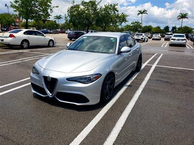 2017 Alfa Romeo Giulia lease in Homestead,FL - Swapalease.com