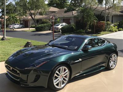 2017 Jaguar F-Type lease in Deerfield Beach,FL - Swapalease.com