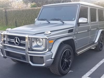 2018 Mercedes-Benz G-Class lease in Irvine,CA - Swapalease.com