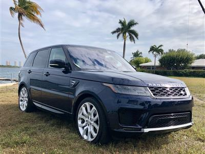 2019 Land Rover Range Rover Sport lease in West Palm Beach,FL - Swapalease.com