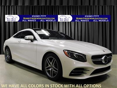 2019 Mercedes-Benz S-Class Coupe lease in New York,NY - Swapalease.com