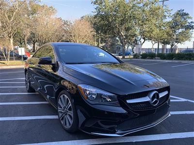 2018 Mercedes-Benz CLA Coupe lease in Jacksonville,FL - Swapalease.com