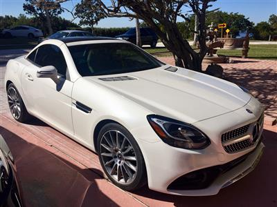 2017 Mercedes-Benz SLC Roadster lease in Crystal Beach,FL - Swapalease.com