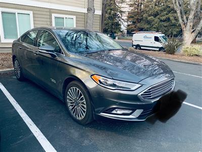 2017 Ford Fusion Energi lease in Santa Clara,CA - Swapalease.com