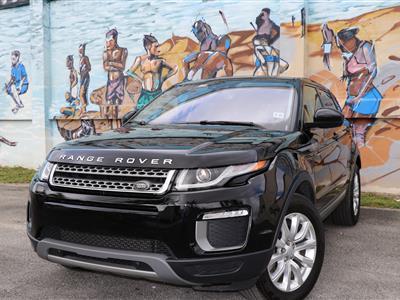 2017 Land Rover Range Rover Evoque lease in Miami,FL - Swapalease.com