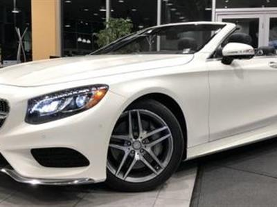 2017 Mercedes-Benz S-Class Cabriolet lease in Dallas,TX - Swapalease.com
