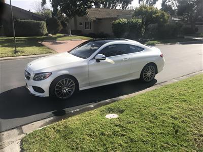 2017 Mercedes-Benz C-Class lease in Newport beach,CA - Swapalease.com
