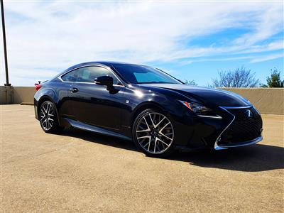 2015 Lexus RC 350 F Sport lease in Dallas,TX - Swapalease.com