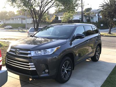 2018 Toyota Highlander lease in Torrance,CA - Swapalease.com