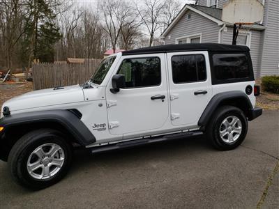 2018 Jeep Wrangler Unlimited lease in warren,NJ - Swapalease.com