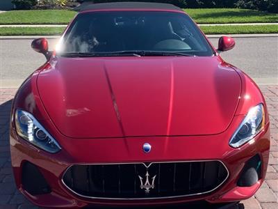 2018 Maserati GranTurismo Convertible lease in Naples,FL - Swapalease.com