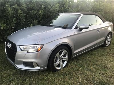 2018 Audi A3 Cabriolet lease in miami,FL - Swapalease.com