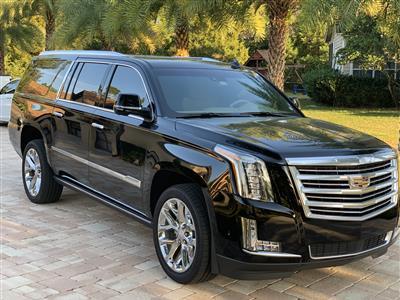 2018 Cadillac Escalade ESV lease in SANFORD,FL - Swapalease.com