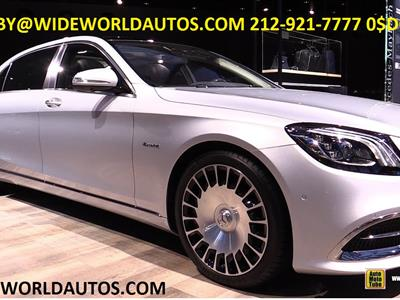 2019 Mercedes-Benz S-Class Maybach lease in New York,NY - Swapalease.com