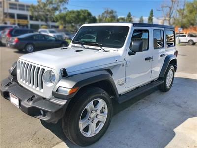 2018 Jeep Wrangler Unlimited lease in Beverly Hills,CA - Swapalease.com