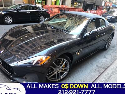 2019 Maserati GranTurismo Convertible lease in New York,NY - Swapalease.com