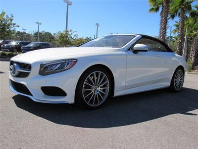 2017 Mercedes Benz S Cl Cabriolet Lease In Tampa Fl Swapalease