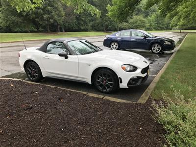 2017 Fiat 124 Spider lease in Hoboken,NJ - Swapalease.com