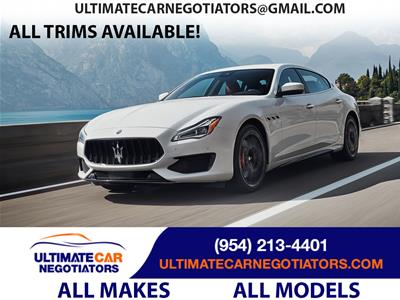2019 Maserati Quattroporte lease in Fort Lauderdale,FL - Swapalease.com