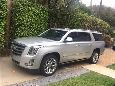 2017 Cadillac Escalade ESV lease in Ocean Ridge,FL - Swapalease.com