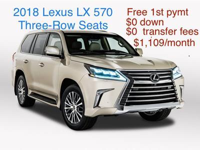 2018 Lexus LX 570 lease in Annandale,VA - Swapalease.com