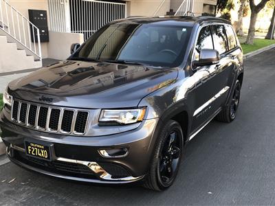 2016 Jeep Grand Cherokee Lease In Valley Glen Ca Swapalease