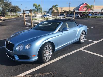 2015 Bentley Continental GTC V8 lease in Palmetto,FL - Swapalease.com