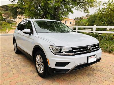 2018 Volkswagen Tiguan lease in Bell Canyon,CA - Swapalease.com