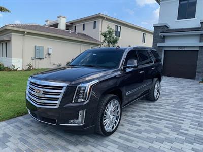 2018 Cadillac Escalade lease in Miramar,FL - Swapalease.com