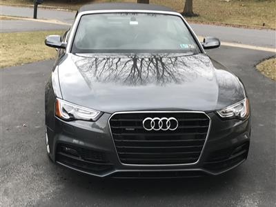 2017 Audi A5 Sport Cabriolet lease in Allentown,PA - Swapalease.com