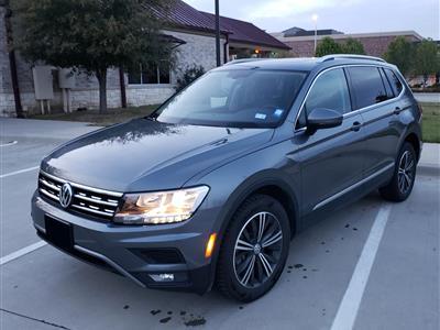 2018 Volkswagen Tiguan lease in Coppelll,TX - Swapalease.com