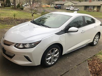 2017 Chevrolet Volt lease in Beaverton,OR - Swapalease.com