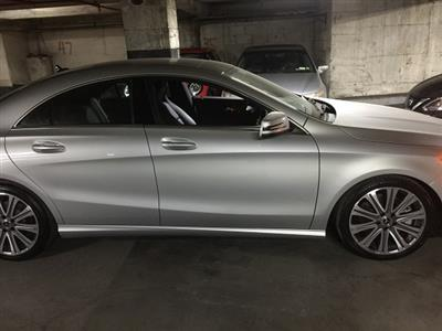 2018 Mercedes-Benz CLA Coupe lease in New York,NY - Swapalease.com