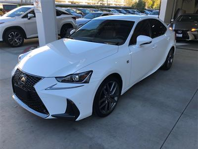 2018 Lexus IS 300 F Sport lease in Woodland Hills,CA - Swapalease.com