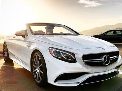 2017 Mercedes-Benz S-Class Cabriolet lease in Granada Hills,CA - Swapalease.com