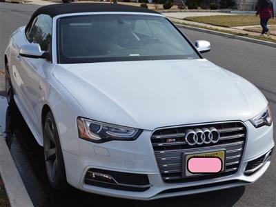 2017 Audi S5 Cabriolet lease in Union,NJ - Swapalease.com