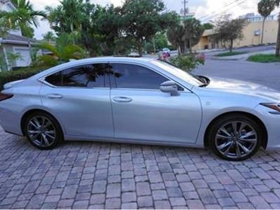 2019 Lexus ES 350 F Sport lease in Fort Lauderdale,FL - Swapalease.com