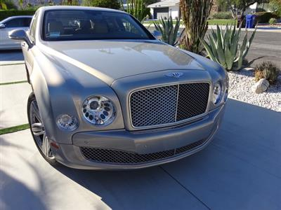 2012 Bentley Mulsanne lease in Palm Springs,CA - Swapalease.com