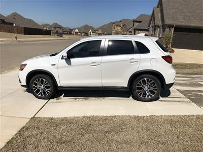 2018 Mitsubishi Outlander Sport lease in Rockwall,TX - Swapalease.com