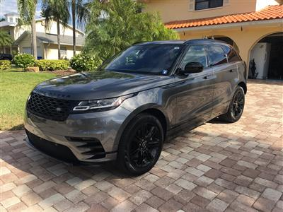 2018 Land Rover Velar lease in Tampa,FL - Swapalease.com