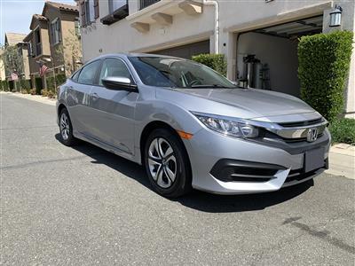 2017 Honda Civic lease in Santa Clarita,CA - Swapalease.com