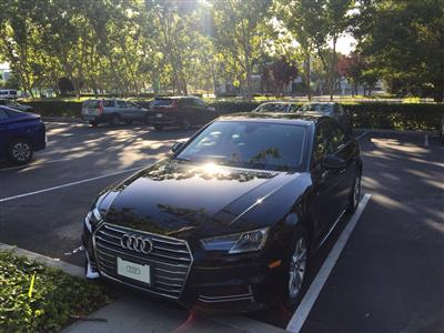 2018 Audi A4 lease in Mountain View,CA - Swapalease.com
