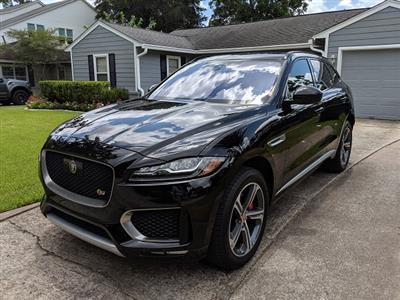 2017 Jaguar F-PACE lease in houston,TX - Swapalease.com