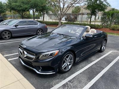 2017 Mercedes-Benz S-Class Cabriolet lease in Boca Raton,FL - Swapalease.com
