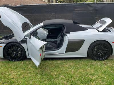 2018 Audi R8 Spyder lease in Houston,TX - Swapalease.com