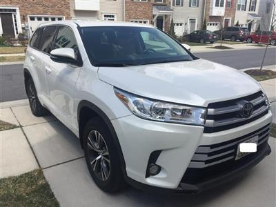 2017 Toyota Highlander lease in Owings Mills,MD - Swapalease.com